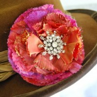 Recycle Craft: Clover Frill Corsage
