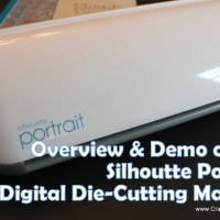 Silhouette Portrait Digital Die-Cutting Machine Part 1: Basic Cutting Tasks