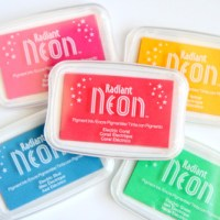 Radiant Neon Stamp Pad Review