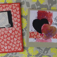 Simon Says Stamp Card Kit Feb 2015 & SIX Valentines!