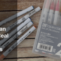 Zig Clean Color Real Brush Markers