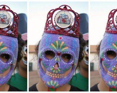 mask-on-a-stick