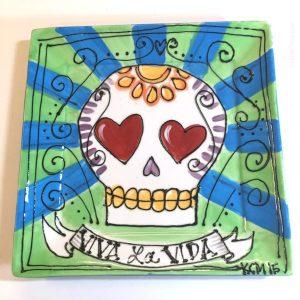 crafty-chica-skull-plate-gren