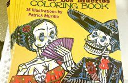 muertos-coloring book