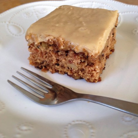"""""""Call Me Old-Fashioned"""" Apple Cake with Brown Sugar Frosting"""