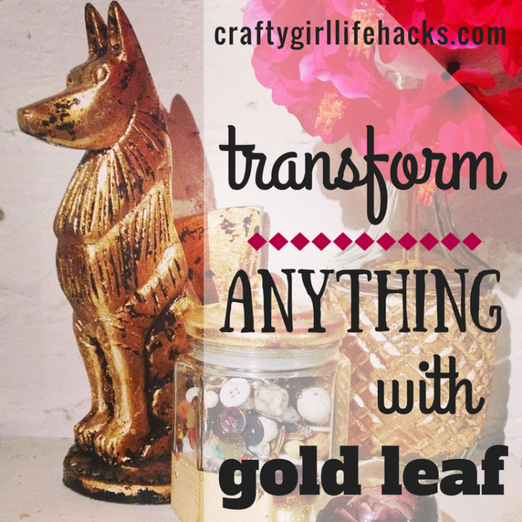 How to transform with gold leaf