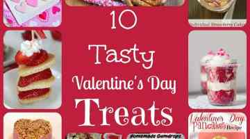 10 Tasty Valentine's Day Treats