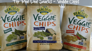 The Real Deal Veggie Chips Review and Giveaway