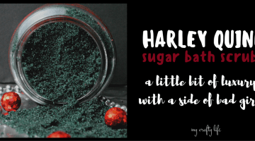 Harley Quinn Sugar Scrub #SuicideSquad