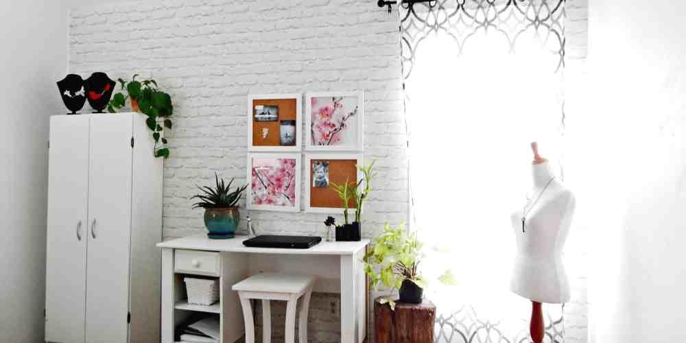 Redecorating my Studio with Walls Republic