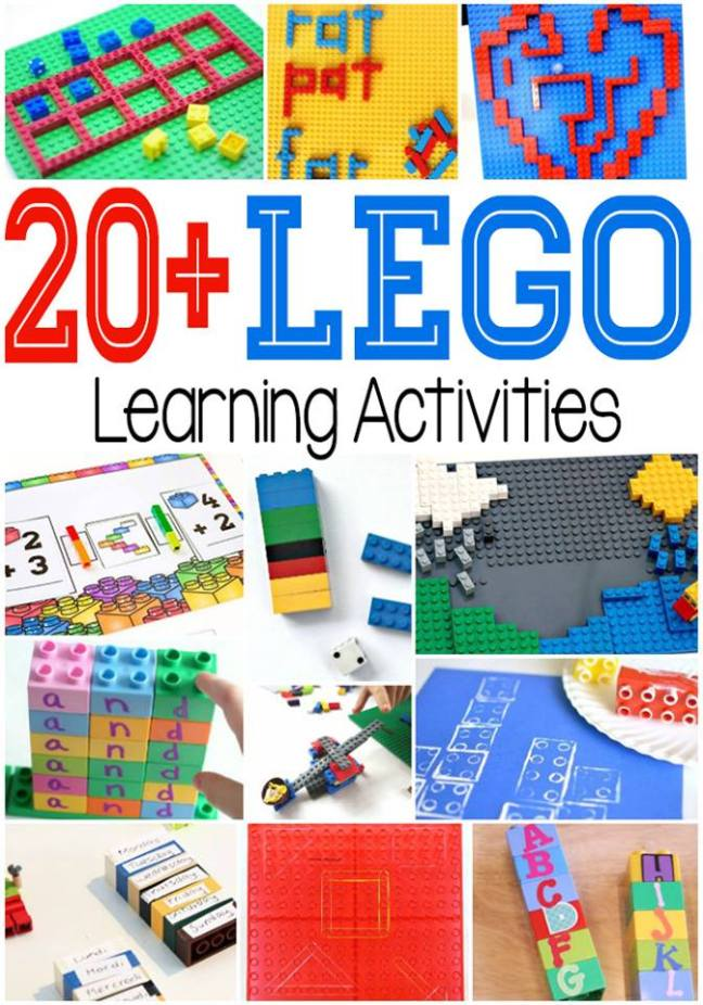 Educational Playtime with Duplo - Sorting, Estimating, and Building