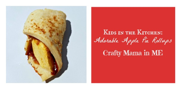 Kids in the Kitchen: Adorable Apple Pie Rollups