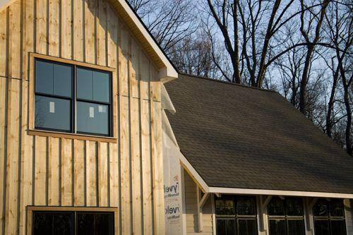 Practical and elegant board and batten siding for Vertical board siding