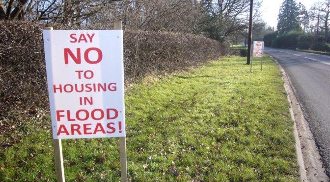 Crest Nicholson Site Floods Within Weeks!