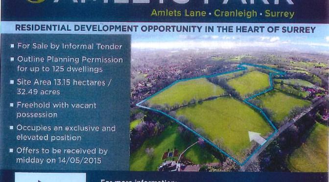 FOR SALE – Amlets Lane