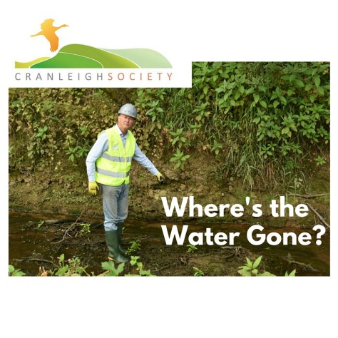 Where's the water gone Cranleigh Society