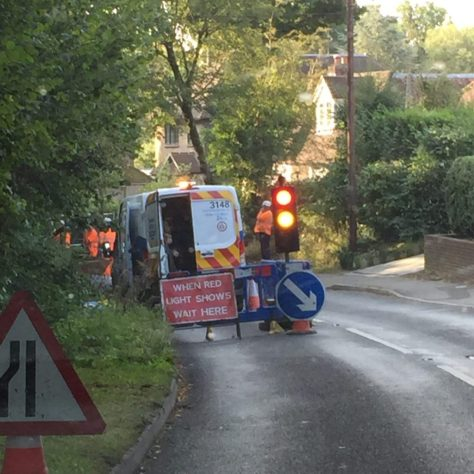 Barhatch Lane Burst Water Main