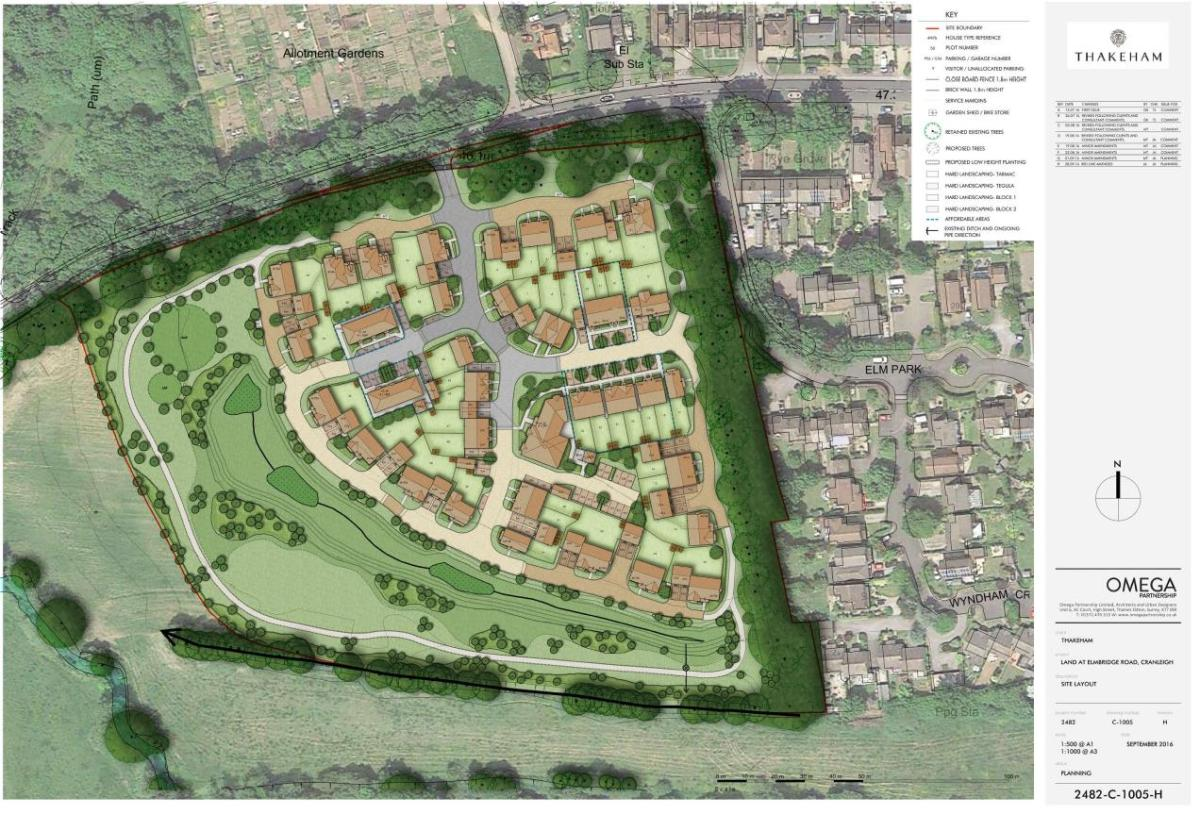 Thakeham Homes Apply for Planning Permission