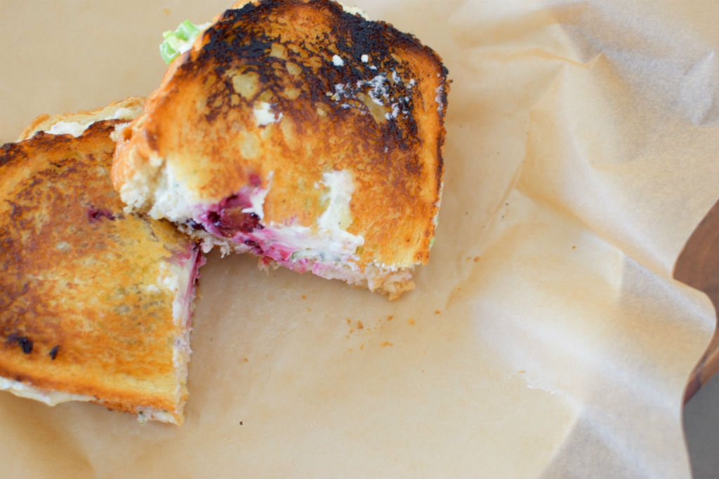 Blackberry Serrano Sourdough Grilled Cheese Sandwich-012