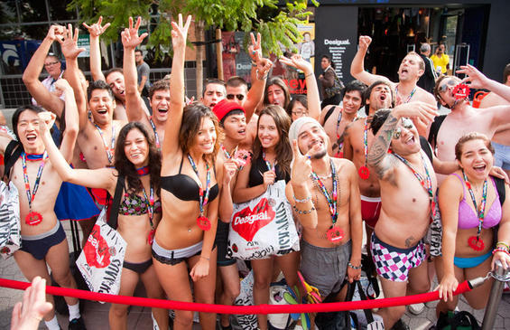 Only in San Francisco? Wear your Underwear on March 2nd and get free clothing at the Desigual UndieParty