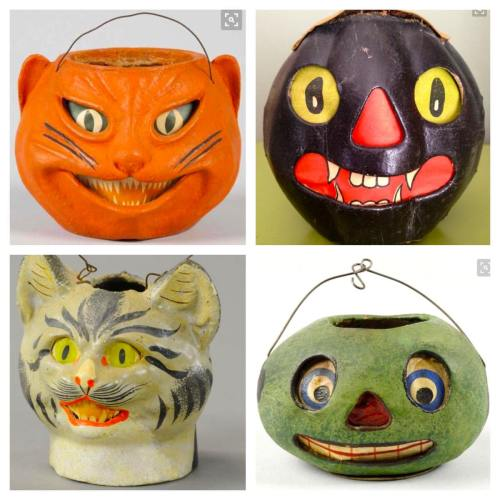 Medium Crop Of Vintage Halloween Decorations