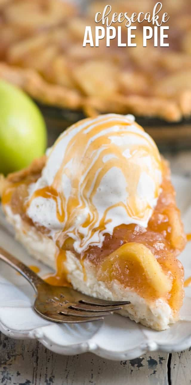 Examplary Crust Apple Pie Cheesecake Parfait Apple Pie Cheesecake No Bake A Cheesecake Apple Pie Has A Cheesecake Filling A Pastry Crustand Cheesecake Apple Pie Crazy nice food Apple Pie Cheesecake