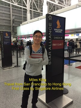 Singapore Airlines First Class Check In