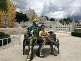 Wat Rong Khun and Golden Triangle in Chiang Rai, Thailand