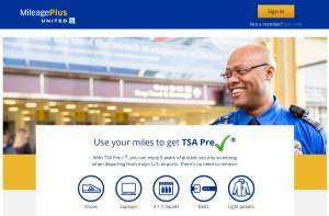 Redeem Your United MileagePlus miles for TSA Precheck