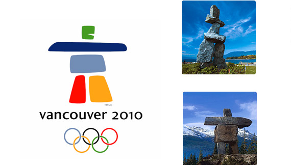 Официальная Эмблема Зимней Олимпиады в Ванкувере - 2010