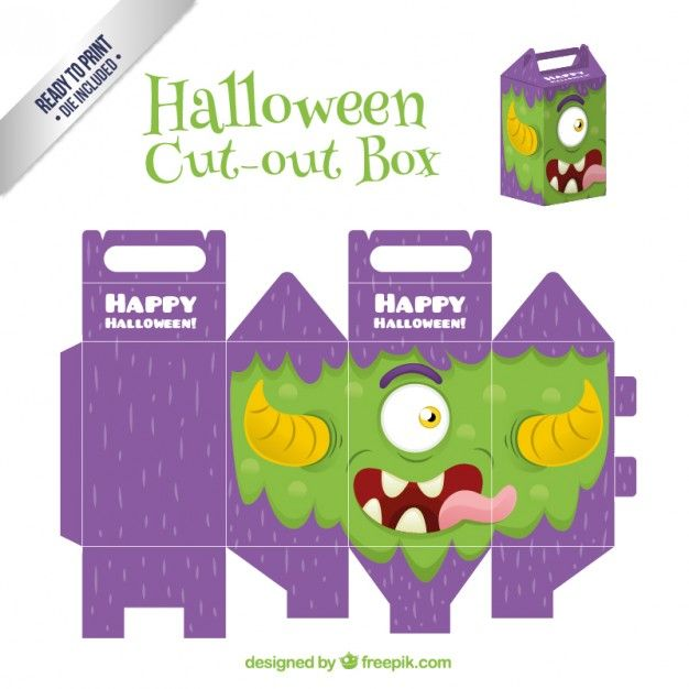 archivos-gratis-halloween-monster-cut-out-box
