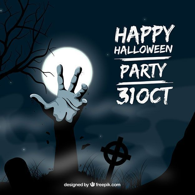 archivos-gratis-halloween-party-invitation-zombie-hand