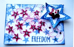 Freedom - ATC - Create With Joy
