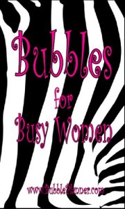 Bubbles For Busy Women Planner