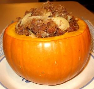 Step 13 - Stuff The Pumpkin