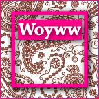 WOYWW 2012 - Paisley Button