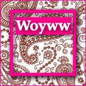 WOYWW 2012 - Paisley Button