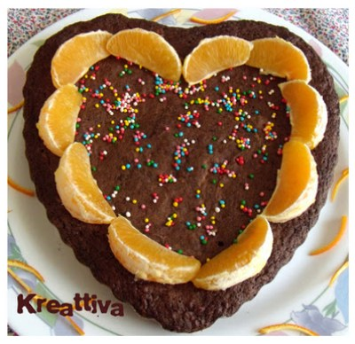 Rose Kreativa - Chocolate Heart Torte