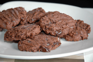 Easy Natural Foods - Double Chocolate Date & Almond Cookies