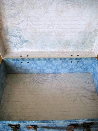 Peacock Box - Interior