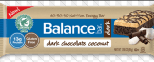 Balance Dark Chocolate Coconut Bar