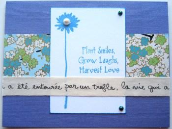 Harvest Love Card