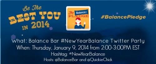 Balance Bar Twitter Party