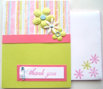 Spring Infused Thank You Card w Envie 1