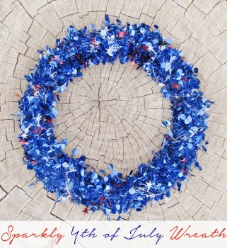 Sparkly 4th of July Wreath