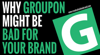 should I use a discount website platform to sell my fashion brand and clothing line? Should I sell my fashion brand on Groupon?