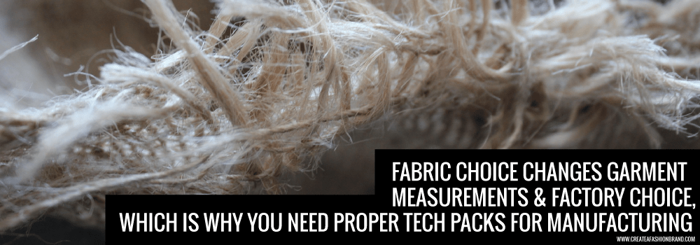 create a fashion brand. Starting a clothing line and understanding technical fabrics. Tech Packs are important to your sampling and manufacturing