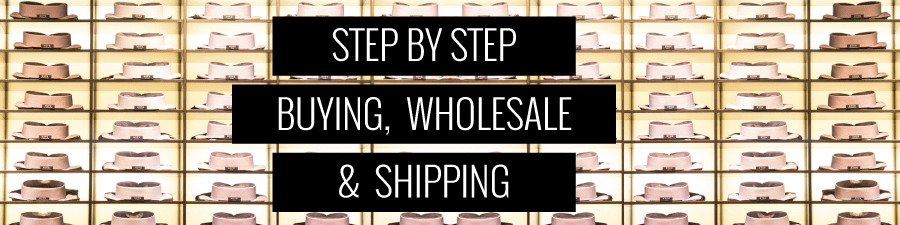 Learn how buyers and wholesale works for your fashion brand. Shipping and Purchase Orders