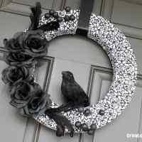 Halloween Wreath {aka Nevermore}