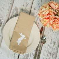 Simple Easter Napkins & Target Gift Card Giveaway